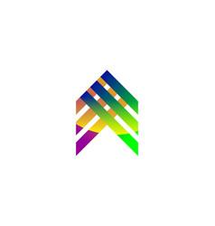 Abstract arrow logo vector