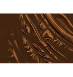 abstract metal bronze background vector image