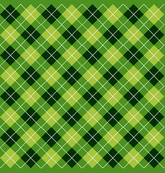argyle seamless pattern vector image