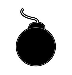 Bomb war weapon vector