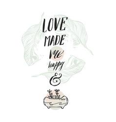 bright romantic background in delightful vector image