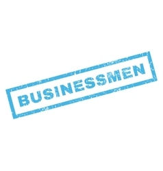 Businessmen Rubber Stamp vector