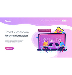 Digital learning concept vector