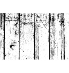 Distress Wooden Planks vector image