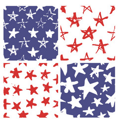 Independence day usa seamless pattern vector