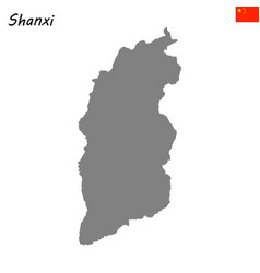 map province of china vector image