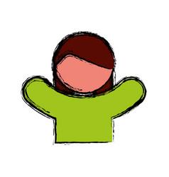 Pictogram woman icon vector