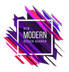 Pink red and blue theme new modern abstract vector