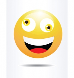 silly face vector image