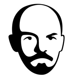 Vladimir Lenin - leader of soviet bolshevik party vector