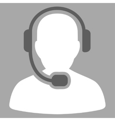 Call Center Operator Icon from Commerce Set vector image