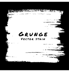 Hand Drawn White Grunge background vector image vector image