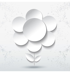 Abstract Paper Flower vector image