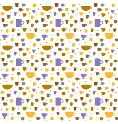 Coffee pattern 1 vector