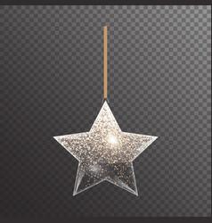 Colorful christmas star vector