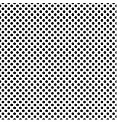 Dotted dense monochrome seamless pattern vector