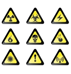 Hazard Sign vector image