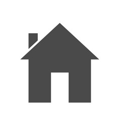 home solid icon vector image