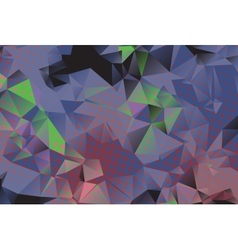 Low poly background with many dots vector