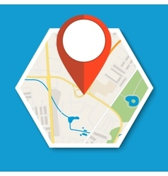 Navigation geolocation icon vector