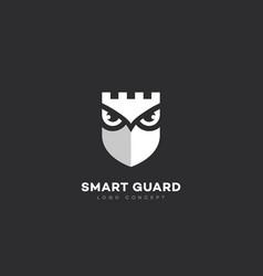 Smart guard logo vector