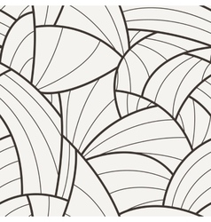 Seamless pattern of curved lines vector image