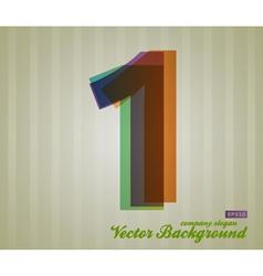 Color Transparency Symbol 1 vector image vector image