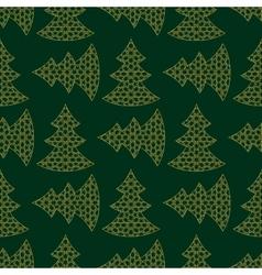 Christmas Gold Tree vector