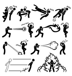 kungfu fighter super human special power mutant vector image