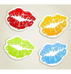 Lips5 vector image
