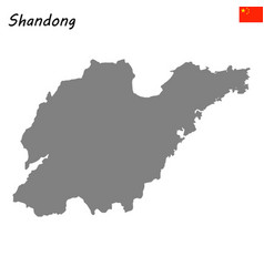 Map province china vector