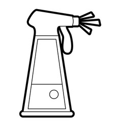 Water in spray bottle icon image vector