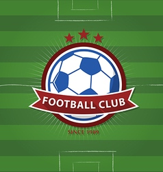 Soccer Football Badge vector image
