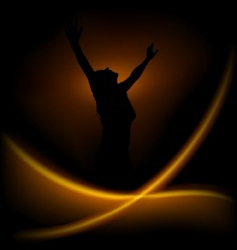 magic dance vector image vector image