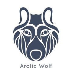 Arctic Wolf Icon vector