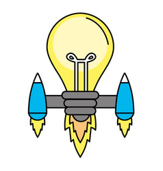 idea light bulb vector image