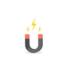 magnet icon symbol logo vector image