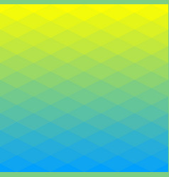 poligonal background of rhombus gradient colors vector image