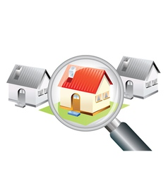 Searching for a new home concept vector
