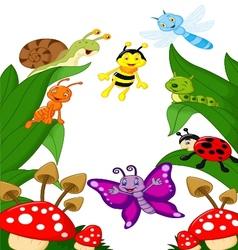 Small animals cartoon vector image