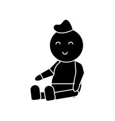 baby newborn icon sign o vector image