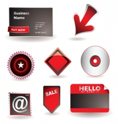 business information concept vector image vector image