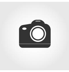reflex camera icon flat design vector image vector image
