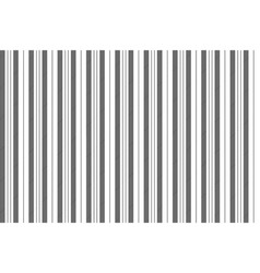 black white classic striped pattern vector image