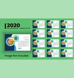 Dask calendar 2020 vector