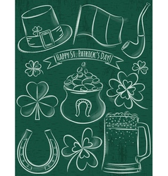 Design elements for St Patricks Day vector