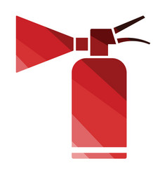 extinguisher icon vector image