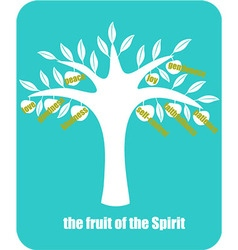 fruit of Spirit vector image