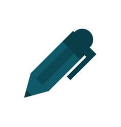 pen writing supply education school icon design vector image