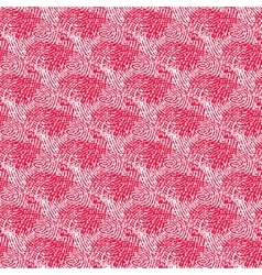 Seamless pink background made of abstract curved vector image vector image
